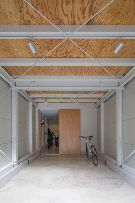 Nhà ống 44 m2 xây theo kiểu Nhật