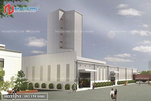 Thiết kế nhà xưởng tại Hưng Yên