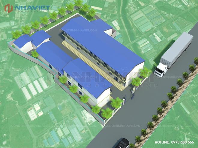 Thiết kế nhà xưởng Vân Đồn - Quảng Ninh