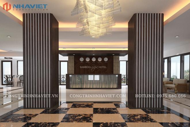 Thiết kế khách sạn tại Lào Cai